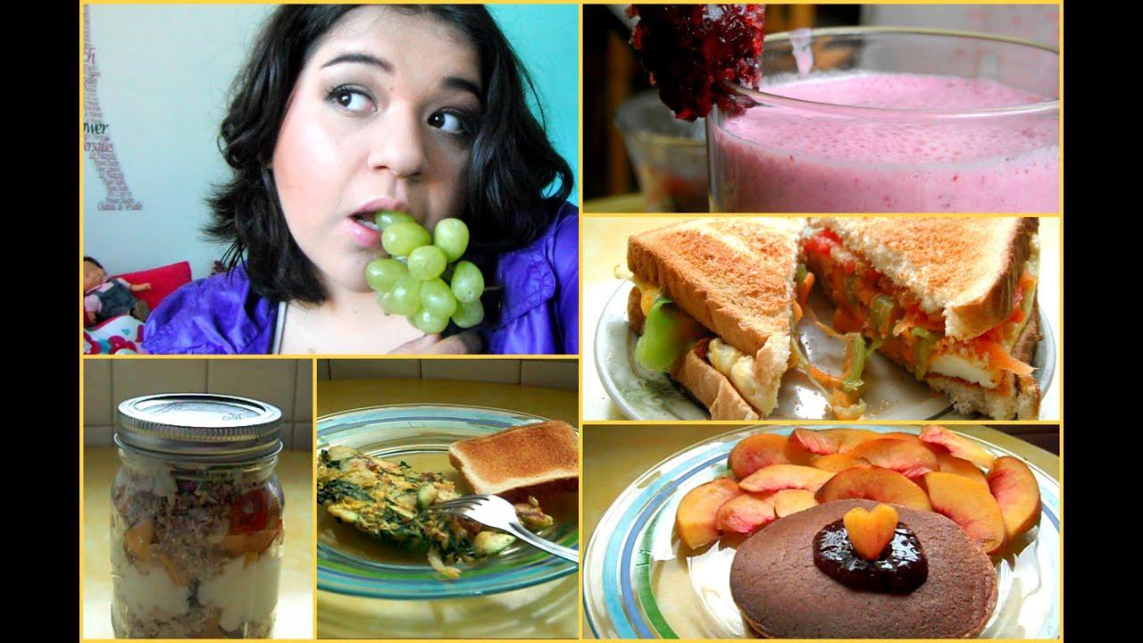 5 desayunos saludables y fáciles