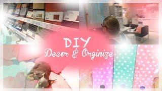 DIY: Room Decor and Organization Desk // Украшение Комнаты и Организация Рабочего Стола // IKEA/ИКЕЯ