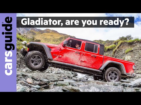 Jeep Gladiator 2020 review: Rubicon off-road