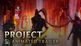 PROJECT: OVERDRIVE   Skins Trailer - League of Legends
