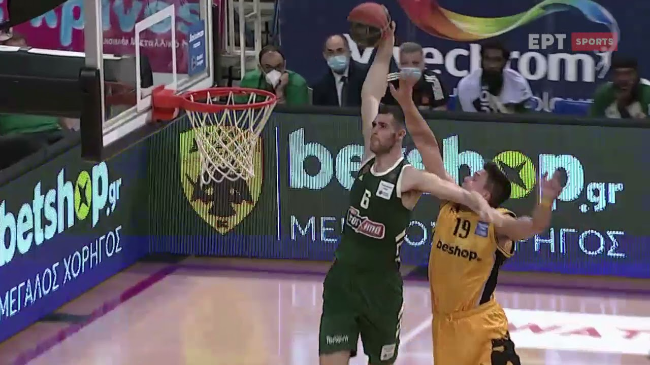 Basket League | ΑΕΚ-Παναθηναϊκός 71-78 | HIGHLIGHTS | 26/05/2021 | ΕΡΤ
