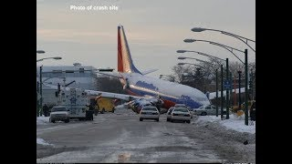 Narrated Accident Animation: Southwest Airlines Flight 1248 Runway Overrun