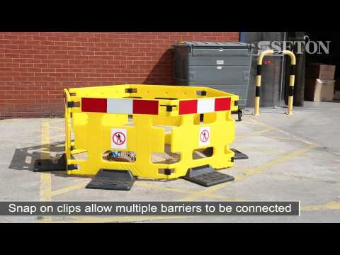 HandiGard Outdoor & Indoor Maintenance Safety Barrier