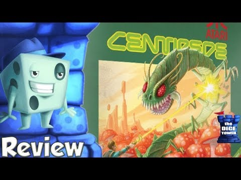 Centipede Review - with Tom Vasel