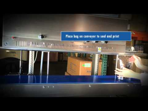 Sealer Sales FRM-1120LD Vertical Stainless Steel Band Sealer - FRM-1120LD Vertical Free Standing Band Sealer - sold by Sealer Sales