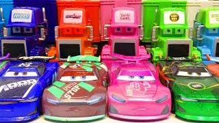 Тачки 3 Машинки Гонщики Новые Игрушки Дисней Видео для Детей