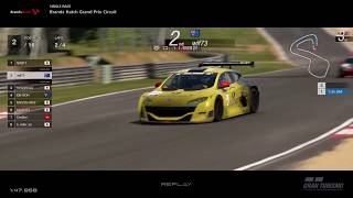 Gran Turismo™SPORT - Brands Hatch GP Renault Megane Trophy Gr4 (online race) v2