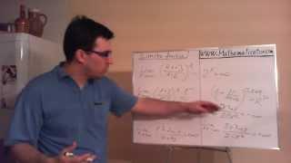 Limita funkce - do nekonečna - metody pro rychlé výpočty