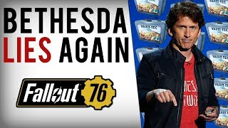 Bethesda Lies, Fallout 76 Loot Boxes Leaked In Game Files & They're Predatory!