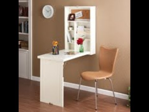 Video for White Fold Out Convertible Desk