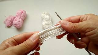 Как вязать рачий шаг Уроки вязания крючком для начинающих