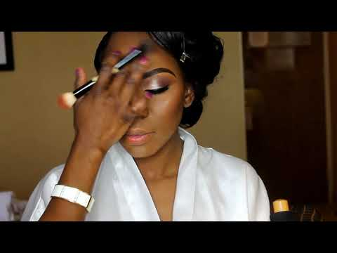 Nigerian Bridal makeover Natural Look
