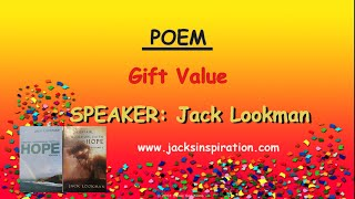 Gift Value- Poem by Jack Lookman
