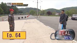 [Real men] 진짜 사나이 - Chan Ho Park be left in the basket 20160522