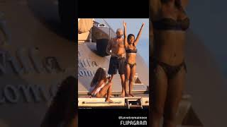 Christina Milian & Her Boo Matt Pokora
