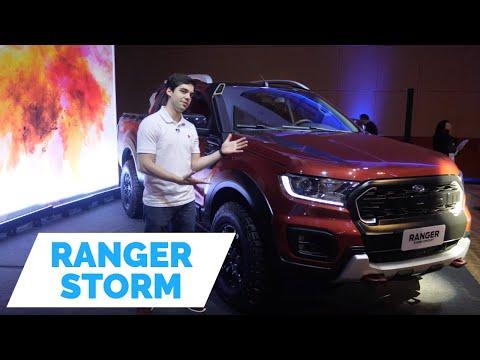 Ford Ranger Storm, a versão Bruta que Chegará em 2019!