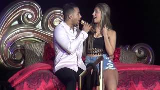 Romeo Santos y Luisa Jaramillo Concierto En Toronto Canada Miercoles Propuesta Indecente