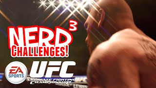 Nerd³ Challenges! KILL GOD - UFC