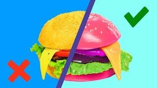Gummy Food vs Real Food Challenge!