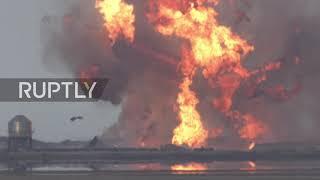 USA: Prototyp statku SpaceX na Marsa eksploduje po pierwszym udanym lądowaniu