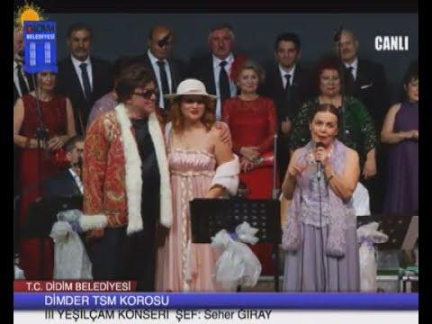 Didim DİMDER TSM Korosu III. YEŞİLCAM Konseri... 2017
