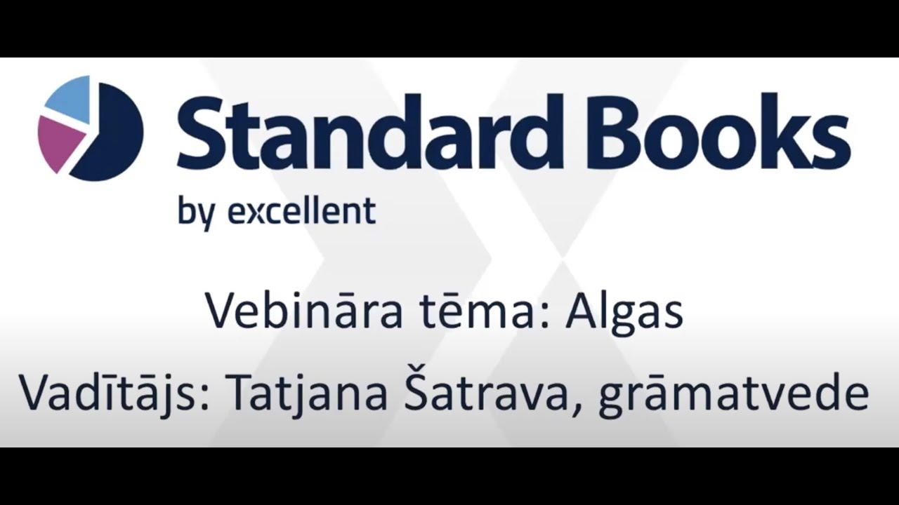 Algas programmā Standard Books by Excellent