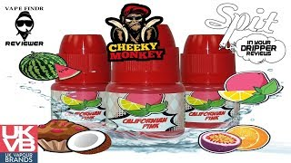 E-JUICE REVIEW - CHEEKY MONKEY E-LIQUID