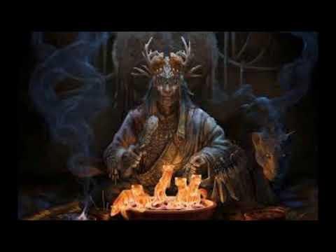Заклинание на черную магию