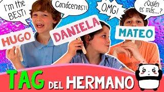 TAG De Los HERMANOS Haack *  Preguntas De QUIÉN ES MÁS... ¡¡CONÓCENOS!!