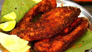 Andhra fish fry in telugu simple fish fry by tasty vantalu most rava fish fry recipe indian street food forumfinder Choice Image