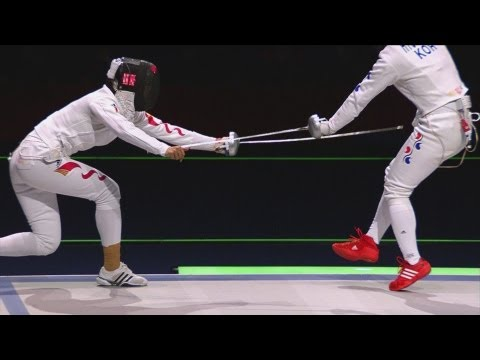 Preview video China win Gold in Women´s Fencing Team Epee - London 2012 Olympics
