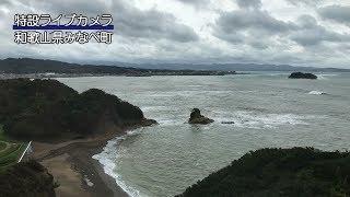 台風24号ライブカメラ和歌山県みなべ町ウェザーニュース台風情報