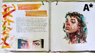 A* A-LEVEL SKETCHBOOK