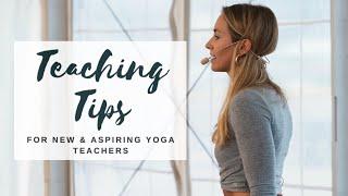 YOGA TEACHING TIPS | For New & Aspiring Teachers | CAT MEFFAN