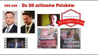 Dr Z.Kękuś (PPP 245) Do 30 mln Polaków: A. Duda, zaprzaniec, człowiek zdrajcy. Po co mu obce wojska?