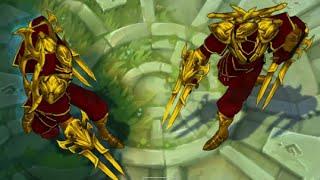 mod skin lol - custom skin ZED golden