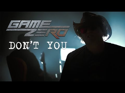 GAME ZERO - Don't You (Official Video) - Simple Minds cover online metal music video by GAME ZERO