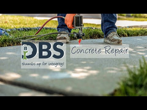 DBS Residential Solutions - Concrete Lifting and Leveling Video