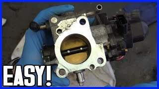 Throttle Body Actuator Service Toyota Prius 2