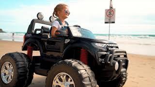 Ford Ranger 4x4 Monster Truck Ride On Toy!