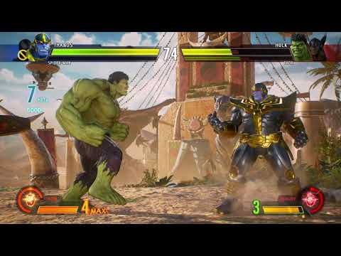 Marvel vs Capcom Infinite Gameplay!! XBOX ONE X