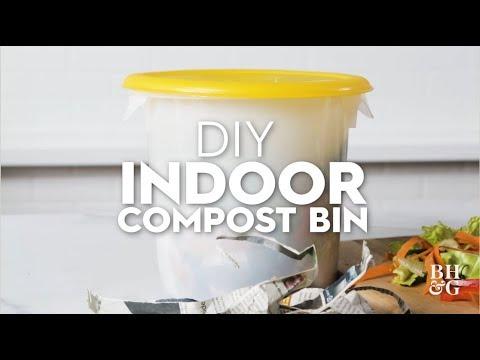 DIY Indoor Compost Bin | Made By Me Garden | Better Homes & Gardens