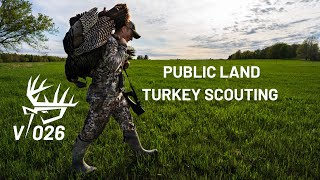 PUBLIC LAND TURKEY SCOUTING