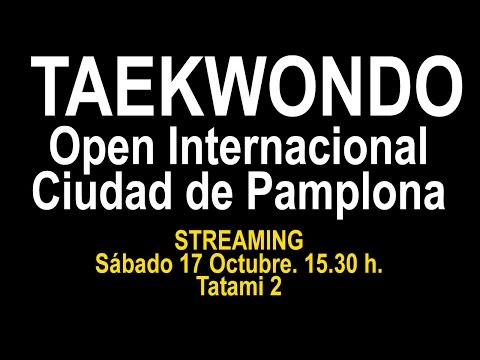 Open Ciudad de Pamplona (Tatami 2)