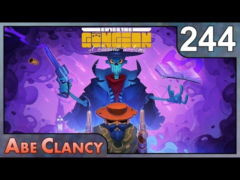 AbeClancy Plays: Enter the Gungeon - 244 - Double Luck