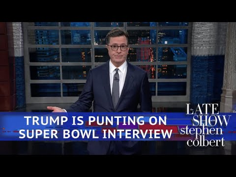 President Trump Declines To Tackle The Traditional Super Bowl Interview