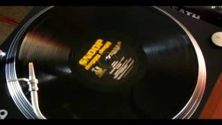 SNOOP DOGGY DOGG - (E Side) - GIN AND JUICE - Live - vinyl