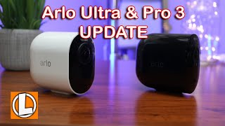 Arlo Ultra and Pro 3 Update 2020 - Subscription, Direct Storage Access, Homekit