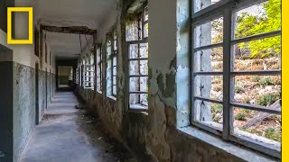 Get a Haunting Look at Croatia's Abandoned Island Prison | National Geographic