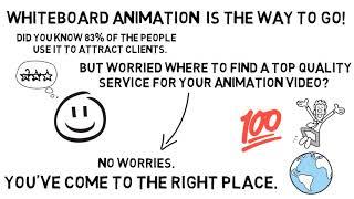 I will provide an eye catching amazing Whiteboard Animation